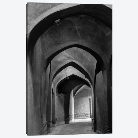 Iran, Yazd, Arches Canvas Print #WBI87} by Walter Bibikow Canvas Wall Art
