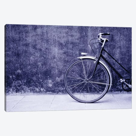 Front Half Of A Bicycle, Saint-Malo, Brittany, France 3-Piece Canvas #WBI8} by Walter Bibikow Canvas Art