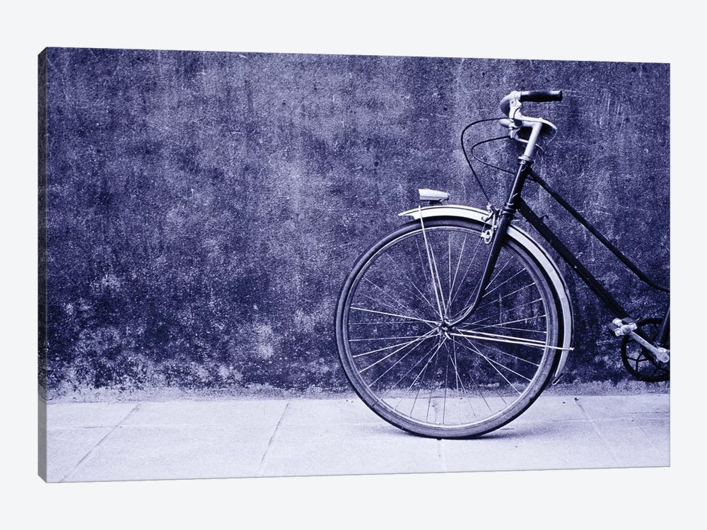 Front Half Of A Bicycle, Saint-Malo, Brittany, France by Walter Bibikow 1-piece Art Print