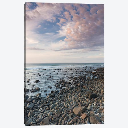 New Zealand, North Island, Pungarehu. Cape Egmont, seascape II Canvas Print #WBI97} by Walter Bibikow Canvas Print