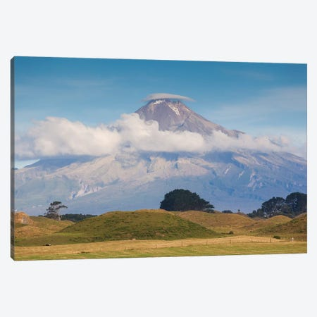 New Zealand, North Island, Pungarehu. Mt. Taranaki Canvas Print #WBI98} by Walter Bibikow Canvas Art