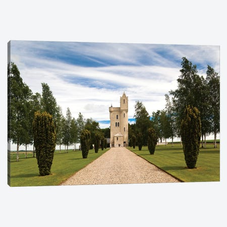 Ulster Tower, Thiepval, Hauts-de-France, France Canvas Print #WBI9} by Walter Bibikow Canvas Art