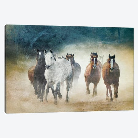 Dust Devils 3-Piece Canvas #WCA4} by Wendy Caro Canvas Art