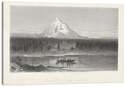 Mount Hood from the Columbia Canvas Art Print
