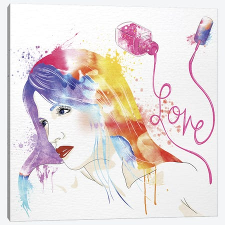 Significance of Love Canvas Print #WCFN4} by 5by5collective Canvas Art