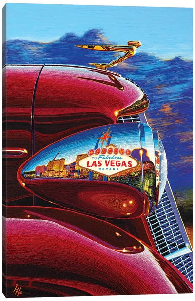 Las Vegas: A World Of Difference Canvas Art Print