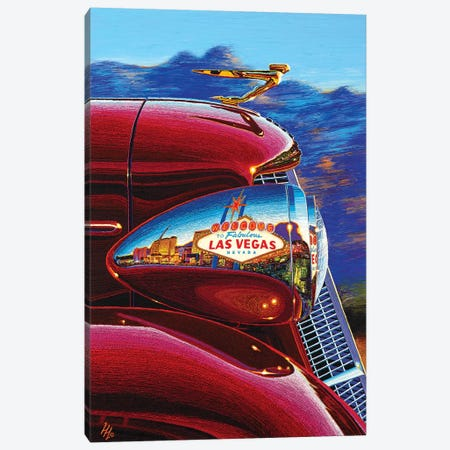 Las Vegas: A World Of Difference Canvas Print #WCO15} by Wil Cormier Canvas Wall Art