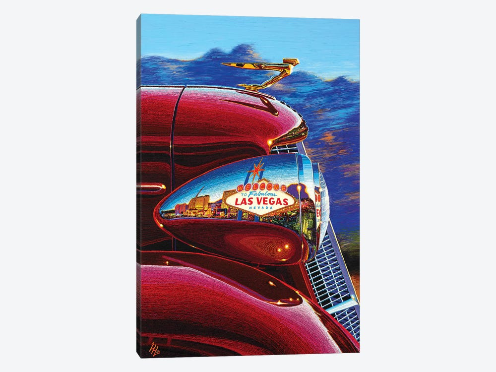 Las Vegas: A World Of Difference by Wil Cormier 1-piece Canvas Wall Art