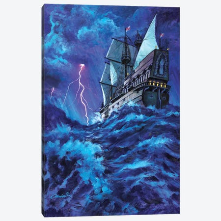 Last Voyage Canvas Print #WCO16} by Wil Cormier Canvas Artwork