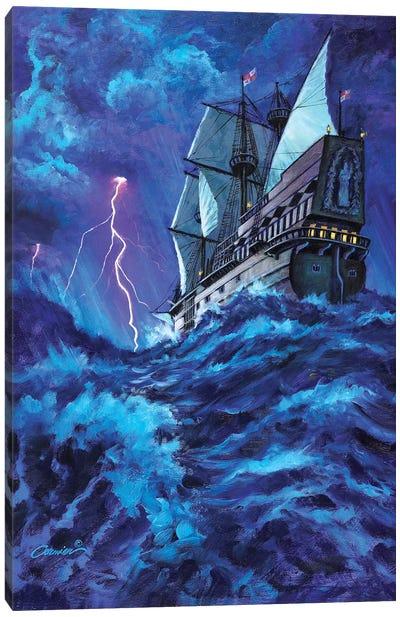 Last Voyage Canvas Art Print