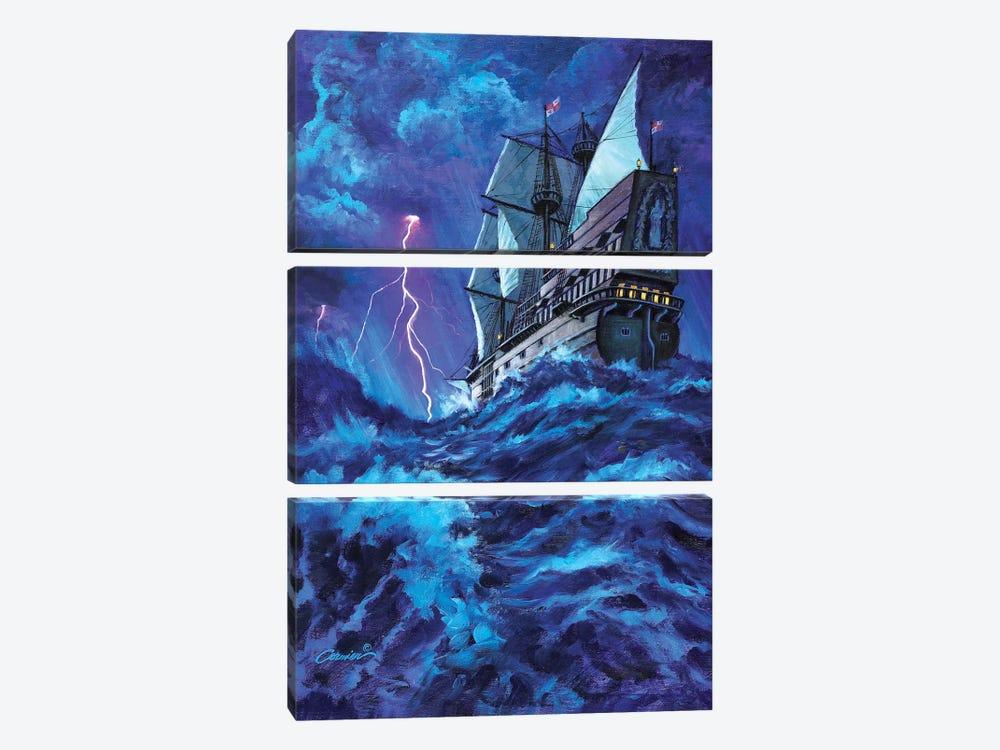 Last Voyage by Wil Cormier 3-piece Canvas Print