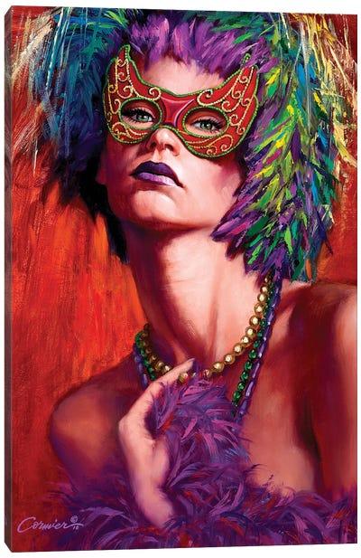 Mardi Gras Cherie Canvas Art Print