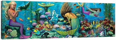 Neptunes Playground II Canvas Art Print