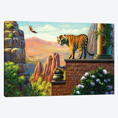 On Top Of The World Canvas Print #WCO23} by Wil Cormier Canvas Artwork