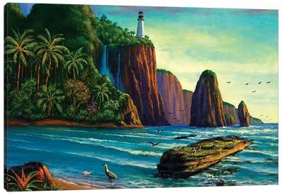 Paradise Bay Canvas Art Print