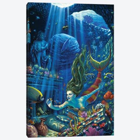 Poseidons Treasures Canvas Print #WCO27} by Wil Cormier Canvas Print