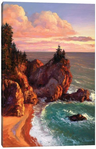 Rocky Shores II Canvas Art Print
