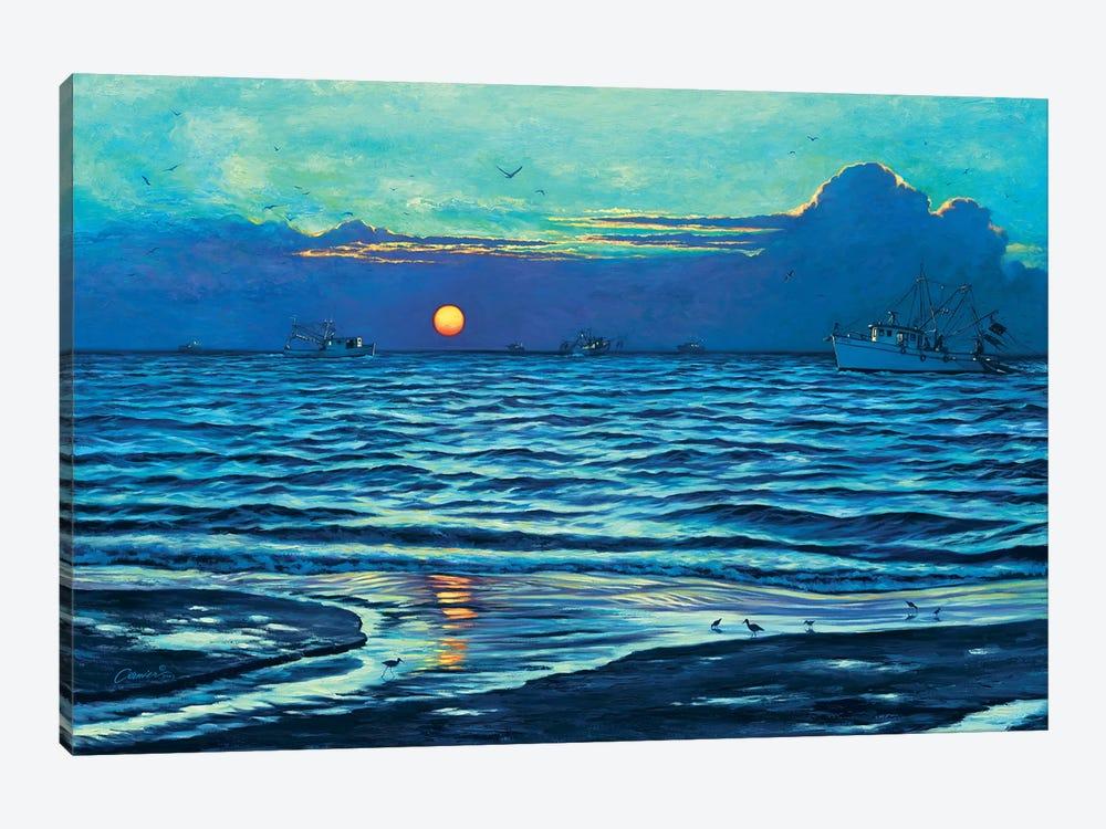 Sapelo Sunrise by Wil Cormier 1-piece Canvas Art Print