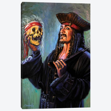 Blackbeards Trophy Canvas Print #WCO2} by Wil Cormier Canvas Art Print