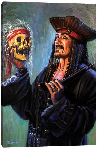 Blackbeards Trophy Canvas Art Print