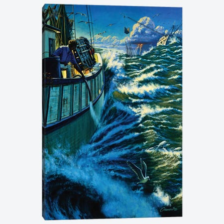 Seven Miles Out Canvas Print #WCO31} by Wil Cormier Canvas Print