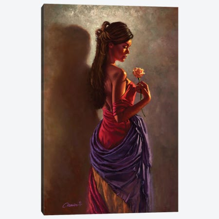 Spanish Rose Canvas Print #WCO32} by Wil Cormier Canvas Print