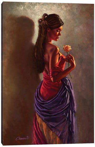 Spanish Rose Canvas Art Print