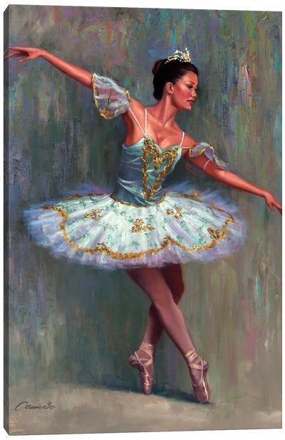 The Ballet Dancer  Canvas Art Print