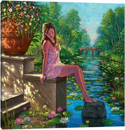 The Secret Garden Canvas Art Print
