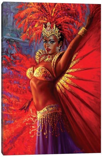 Brazilian Queen Canvas Art Print