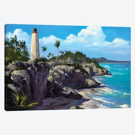 Costal Splendor III Canvas Print #WCO6} by Wil Cormier Canvas Artwork