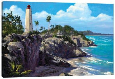 Costal Splendor III Canvas Art Print