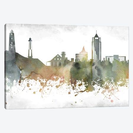 Virginia Skyline Canvas Print #WDA1008} by WallDecorAddict Canvas Art