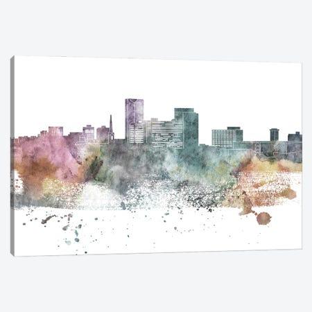 Lexington Pastel Skyline Canvas Print #WDA1062} by WallDecorAddict Canvas Wall Art