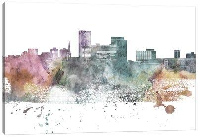 Lexington Pastel Skyline Canvas Art Print
