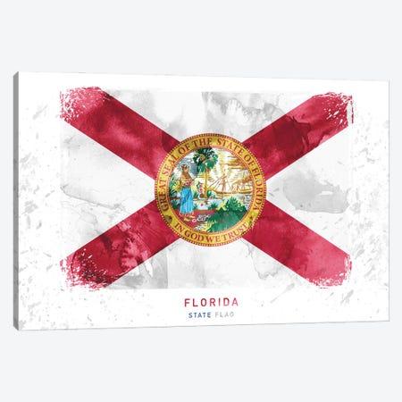 Florida Canvas Print #WDA121} by WallDecorAddict Canvas Wall Art