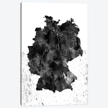 Germany Black And White Canvas Print #WDA132} by WallDecorAddict Canvas Print