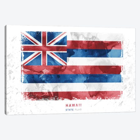 Hawaii Canvas Print #WDA134} by WallDecorAddict Canvas Art
