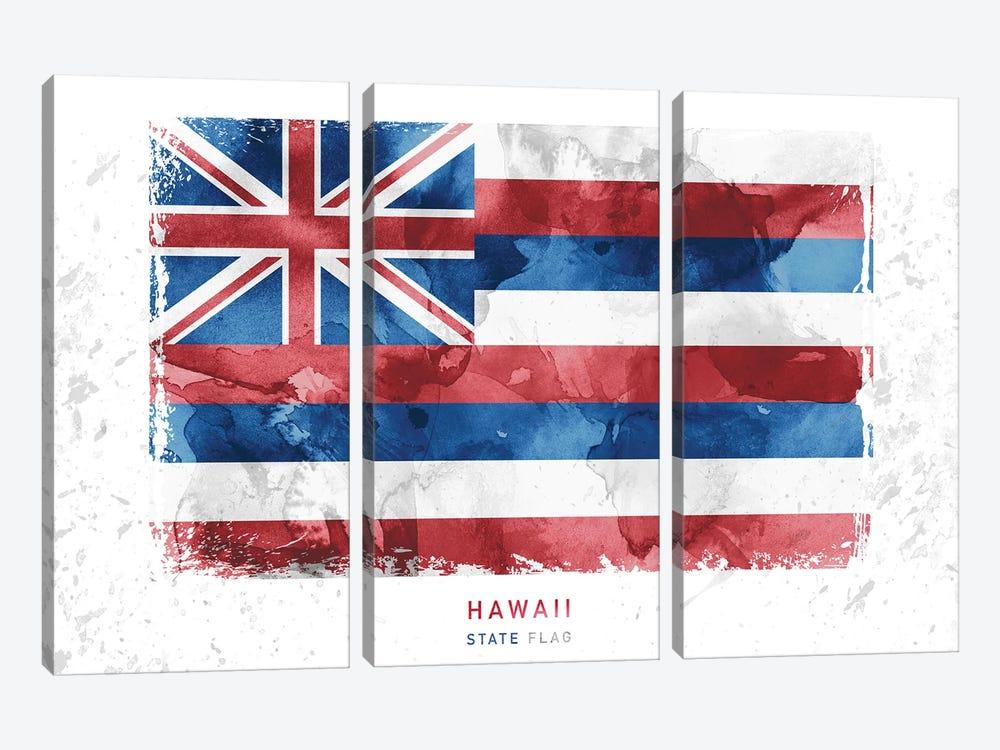Hawaii by WallDecorAddict 3-piece Canvas Art Print