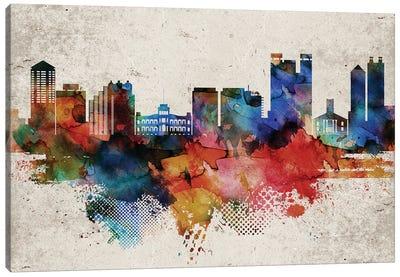 Honolulu Abstract Canvas Art Print
