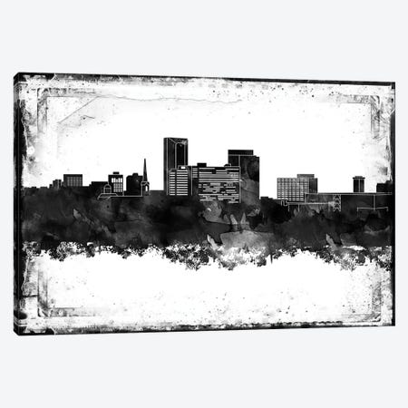 Lexington Black & White Film Canvas Print #WDA1436} by WallDecorAddict Canvas Artwork