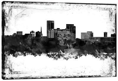 Lexington Black & White Film Canvas Art Print