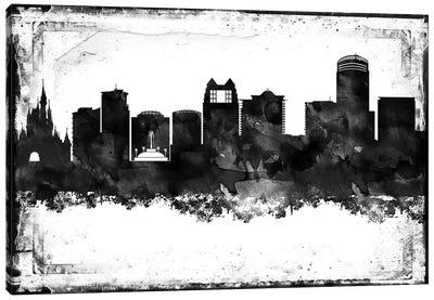 Orlando Black & White Film Canvas Art Print