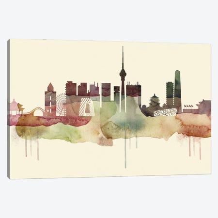 Beijing Desert Style Skyline Canvas Print #WDA1497} by WallDecorAddict Canvas Wall Art