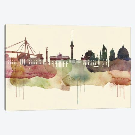 Berlin Desert Style Skyline Canvas Print #WDA1498} by WallDecorAddict Canvas Art Print