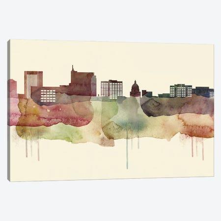 Boise Desert Style Skyline Canvas Print #WDA1499} by WallDecorAddict Canvas Print