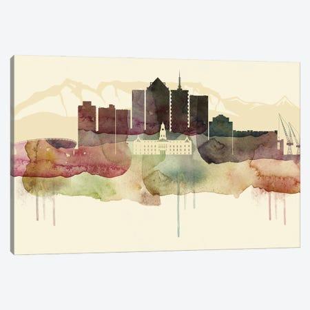 Cape Town Desert Style Skyline Canvas Print #WDA1505} by WallDecorAddict Canvas Art