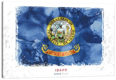 Idaho Canvas Art Print