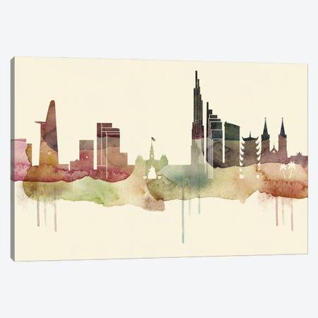 Ho Chi Minh Desert Style Skyline Canvas Print #WDA1524} by WallDecorAddict Canvas Wall Art