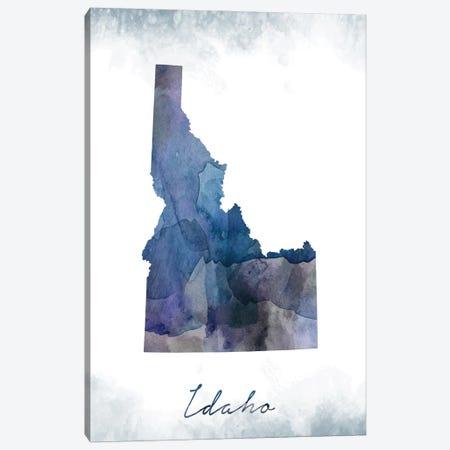 Idaho State Bluish Canvas Print #WDA152} by WallDecorAddict Canvas Print